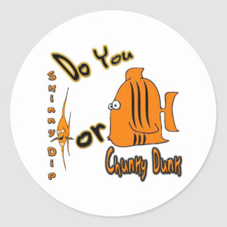 BnanneK Collection by FishTs.com Classic Round Sticker