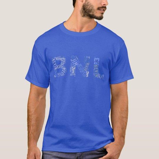 BNL Word Cloud - Blue T-Shirt