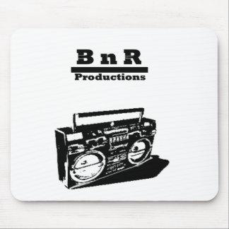 BnR stencil Boom box Mouse Pad