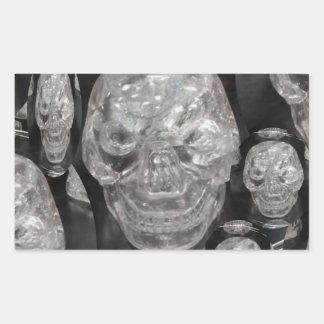 BNW Skull Master Scull Guru Rectangular Sticker