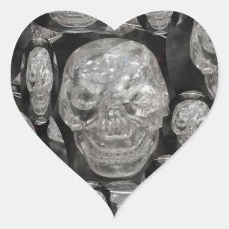 BNW Skull Master Scull Guru Heart Sticker