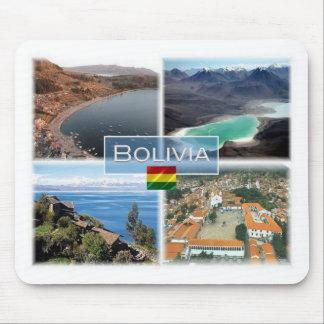 BO Bolivia - Copacabana - Laguna Verde - Mouse Mat