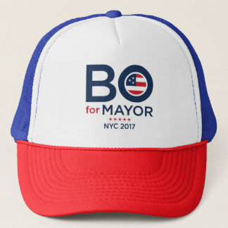 BO DIETL FOR MAYOR OF NYC 2017 HATS