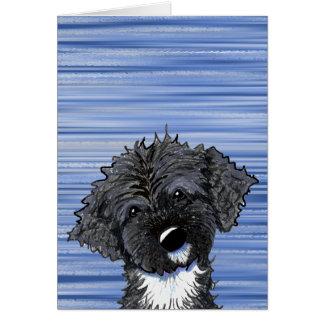 Bo Obama Portuguese Water Dog Card
