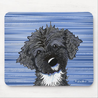 Bo Obama Portuguese Water Dog Mouse Pad