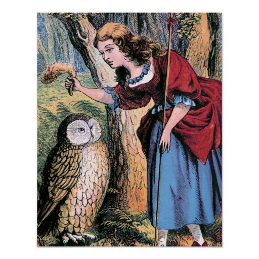 """Bo-Peep and the Owl"" Poster"