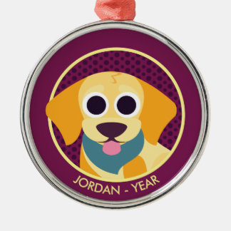 Bo the Dog Christmas Ornament