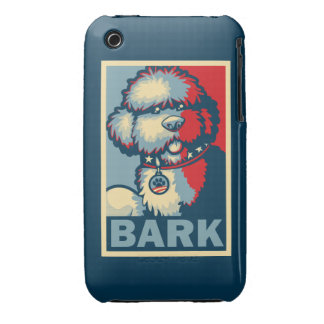 """Bo The Dog, Funny """"Obama HOPE"""" iPhone 3 Covers"""