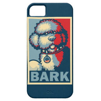 "Bo The Dog, Funny ""Obama HOPE"" iPhone 5 Case"
