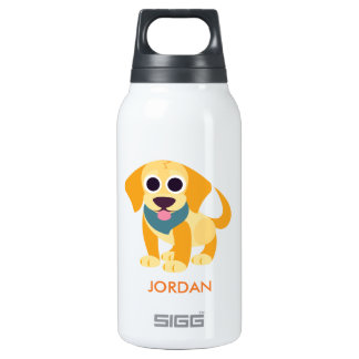 Bo the Dog Insulated Water Bottle