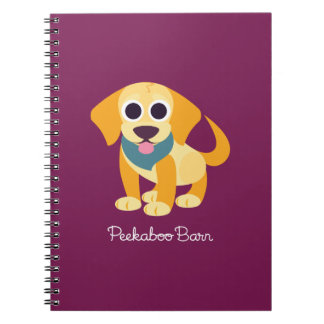 Bo the Dog Spiral Note Book