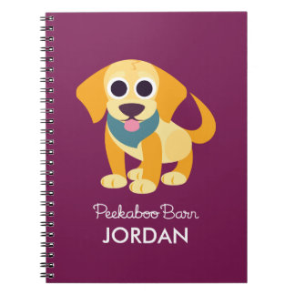 Bo the Dog Spiral Notebook