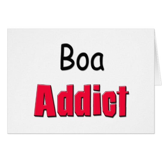 Boa Addict Card