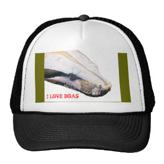 boa, I LOVE BOAS Cap