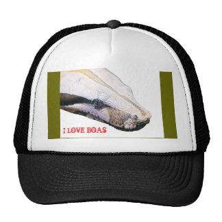 boa, I LOVE BOAS Trucker Hat