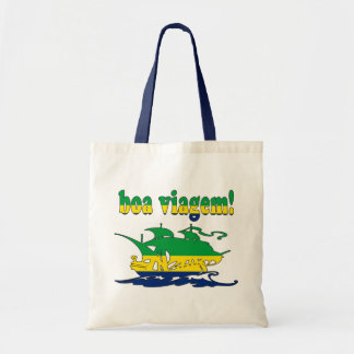 Boa Viagem - Good Trip in Brazilian - Vacations Canvas Bag