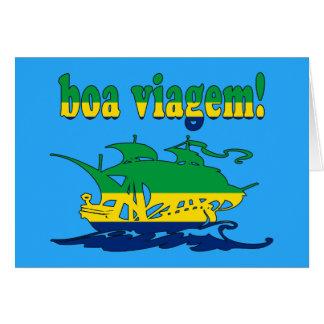 Boa Viagem - Good Trip in Brazilian - Vacations Greeting Card