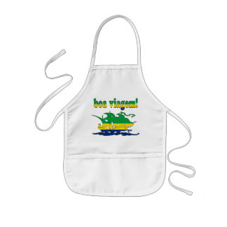 Boa Viagem - Good Trip in Brazilian - Vacations Kids Apron