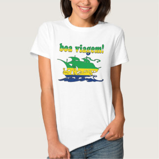 Boa Viagem - Good Trip in Brazilian - Vacations Tee Shirts