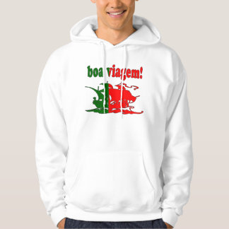 Boa Viagem - Good Trip in Portuguese - Vacations Hoodie