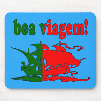 Boa Viagem - Good Trip in Portuguese - Vacations Mouse Pad