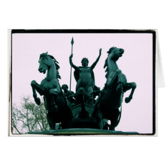 Boadicea Statue - Westminster Bridge - London Card
