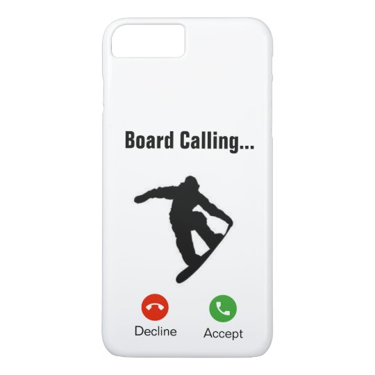 Board Calling iPhone 7+/8+Case iPhone 8 Plus/7 Plus