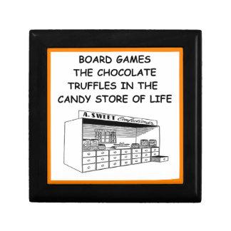 board games small square gift box
