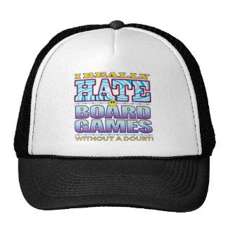 Board Games Hate Face Cap