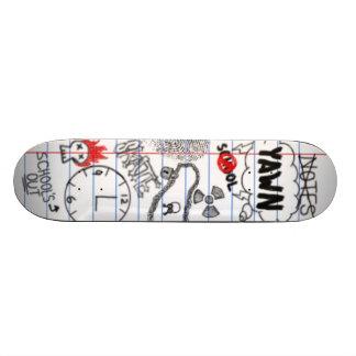 Board in School Custom Skateboard