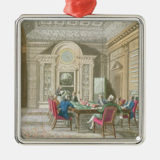 Board Room of The Admiralty, 1808 Christmas Ornament