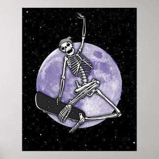 Board Skeleton Poster