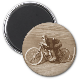 Board Track Motorcycle Racer #2 Magnets