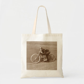 Board Track Motorcycle Racer #2 Canvas Bags