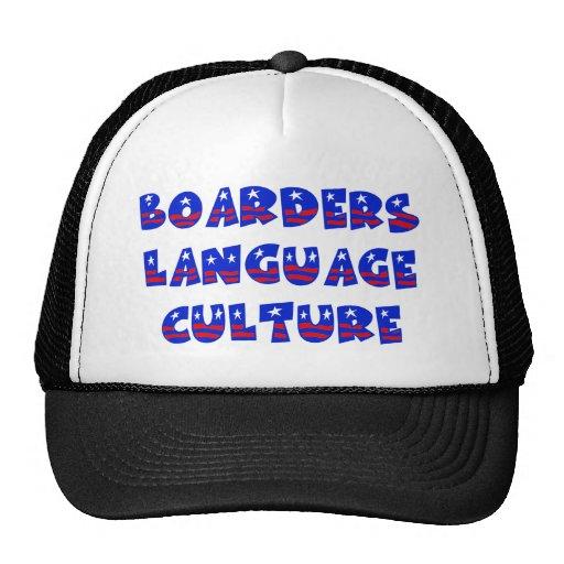 Boarders Language Culture Hat
