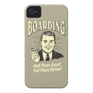 Boarding Half Pipe s Good Full Better iPhone 4 Covers