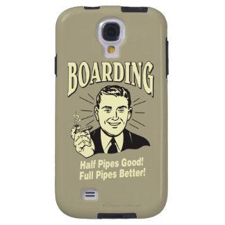 Boarding Half Pipe s Good Full Better Galaxy S4 Case