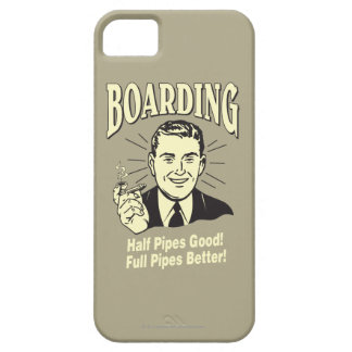Boarding:Half Pipe's Good Full Better Barely There iPhone 5 Case