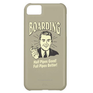 Boarding:Half Pipe's Good Full Better iPhone 5C Cases