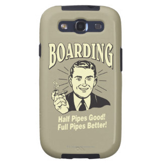 Boarding:Half Pipe's Good Full Better Samsung Galaxy S3 Cases
