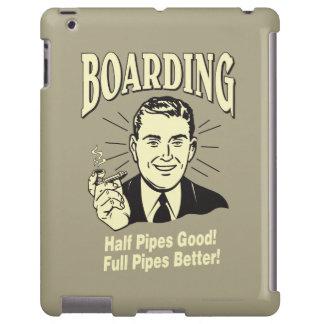 Boarding:Half Pipe's Good Full Better