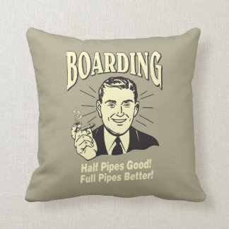 Boarding:Half Pipe's Good Full Better Cushion