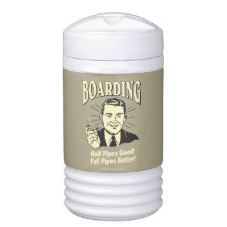 Boarding:Half Pipe's Good Full Better Drinks Cooler