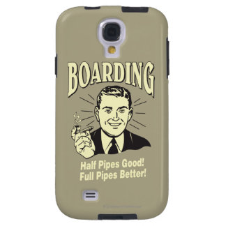 Boarding:Half Pipe's Good Full Better Galaxy S4 Case
