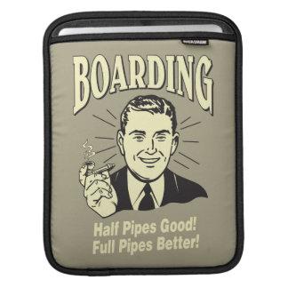 Boarding:Half Pipe's Good Full Better Sleeve For iPads