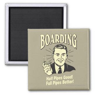 Boarding:Half Pipe's Good Full Better Magnet