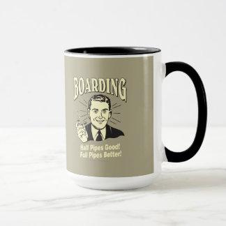 Boarding:Half Pipe's Good Full Better Mug