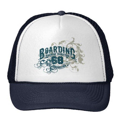 Boarding Trucker Hats