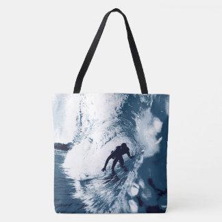 Boarding Trybe Tube, Hawaiian Surfer Beach Bag
