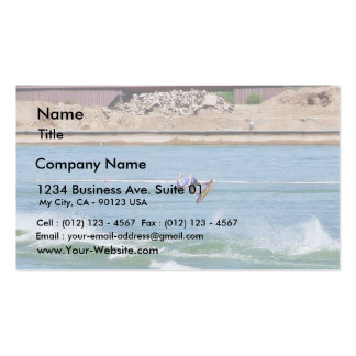 Boarding Water Surfing Business Card Template